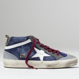 Golden Goose💯Suede Leather Mid star Sneake…